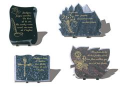 Chronoplaques notre savoir faire - Plaque funeraire originale ...